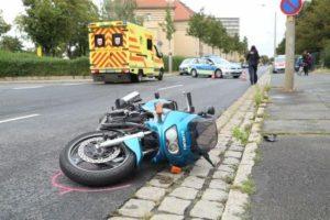 Dieser Unfall ereignete sich auf der Breitscheidstraße.