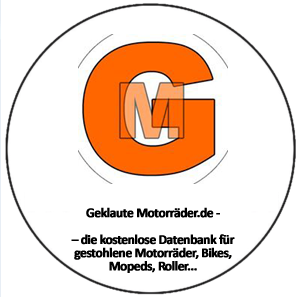 Geklaute Motorräder.de – die kostenlose Datenbank für gestohlene Motorräder, Bikes, Mopeds, Roller